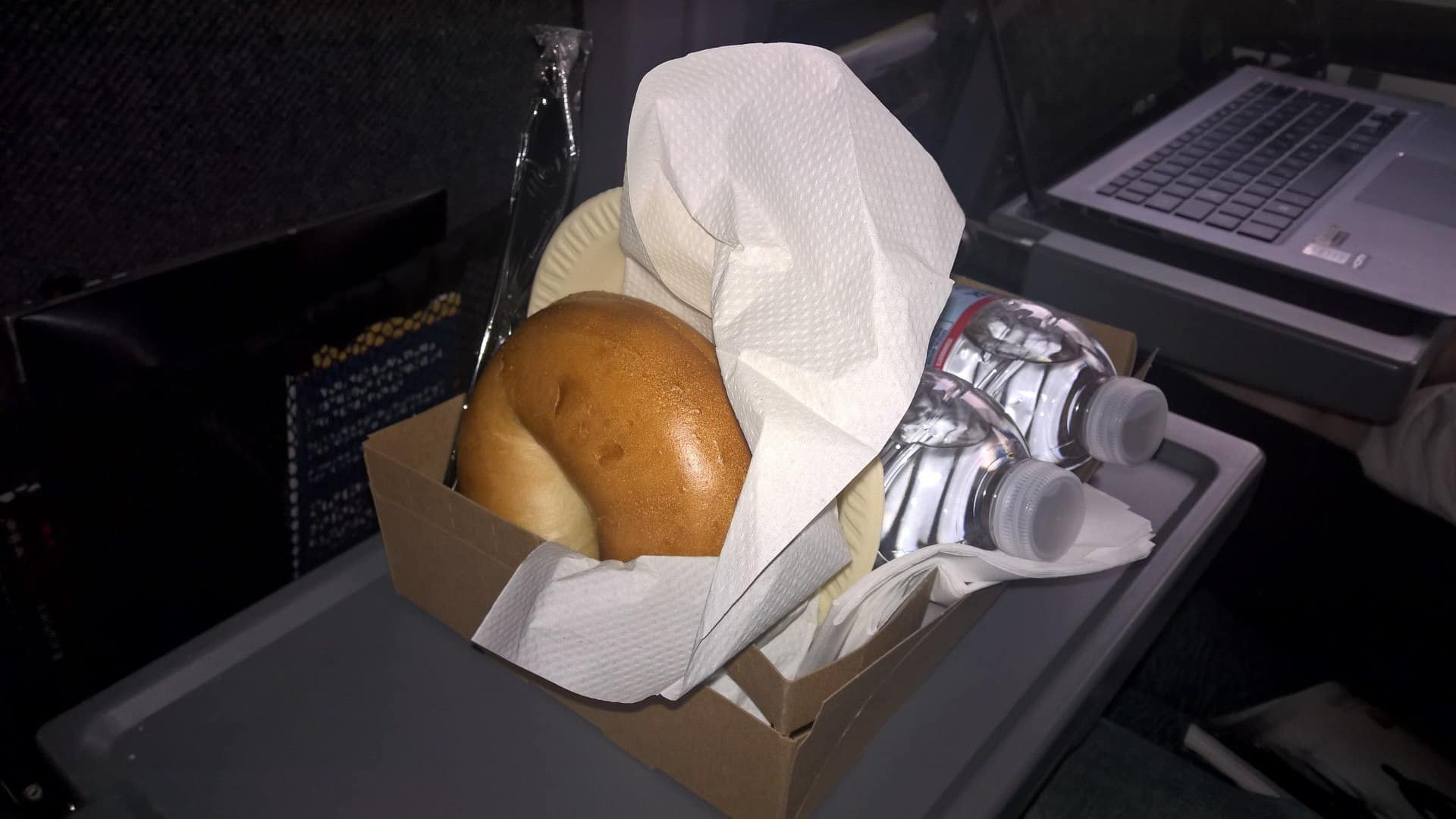 food in car