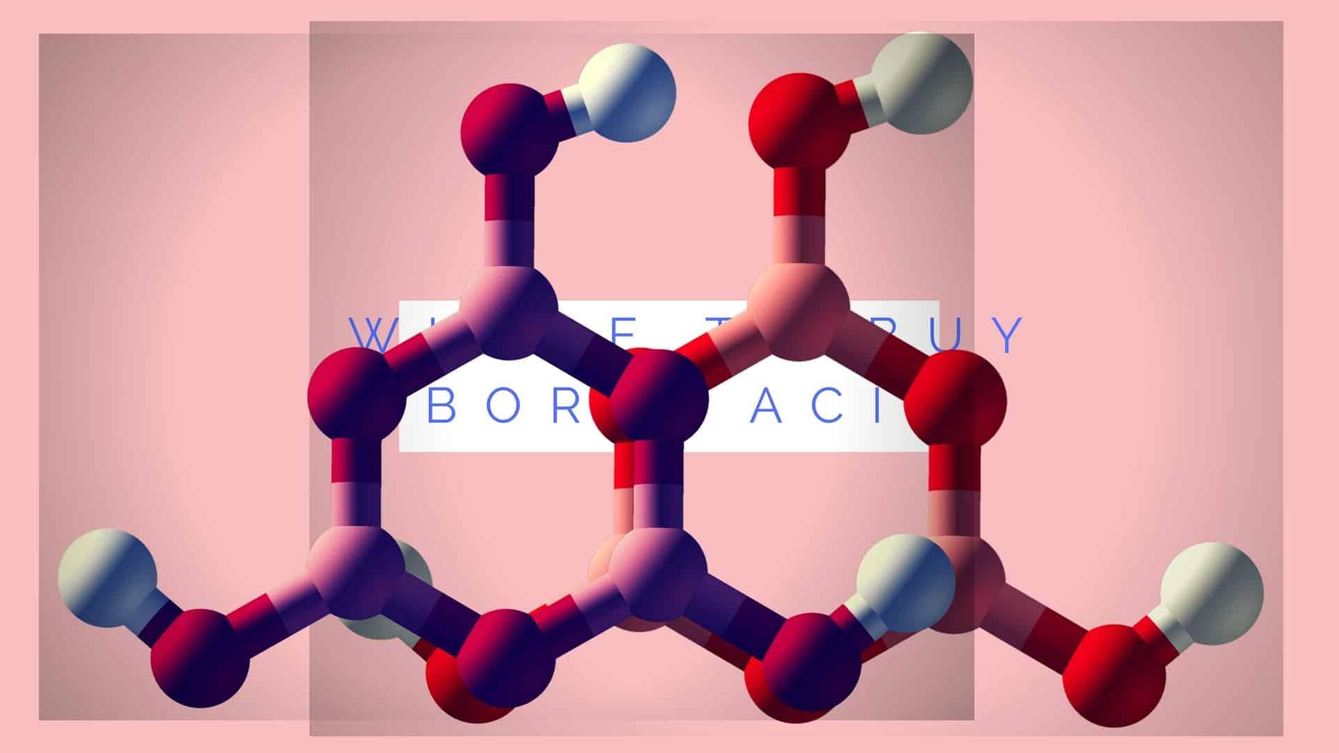 where to buy boric acid