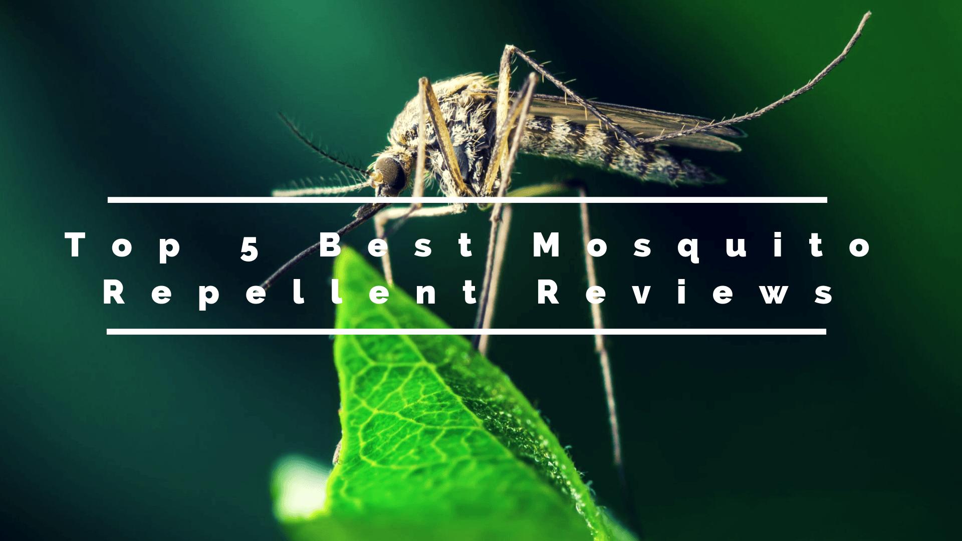 Top 5 Best Mosquito Repellent Reviews