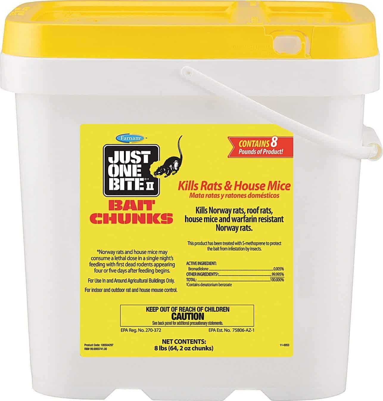 Farnam Just One Bite II Bait Chunks – Strong dose