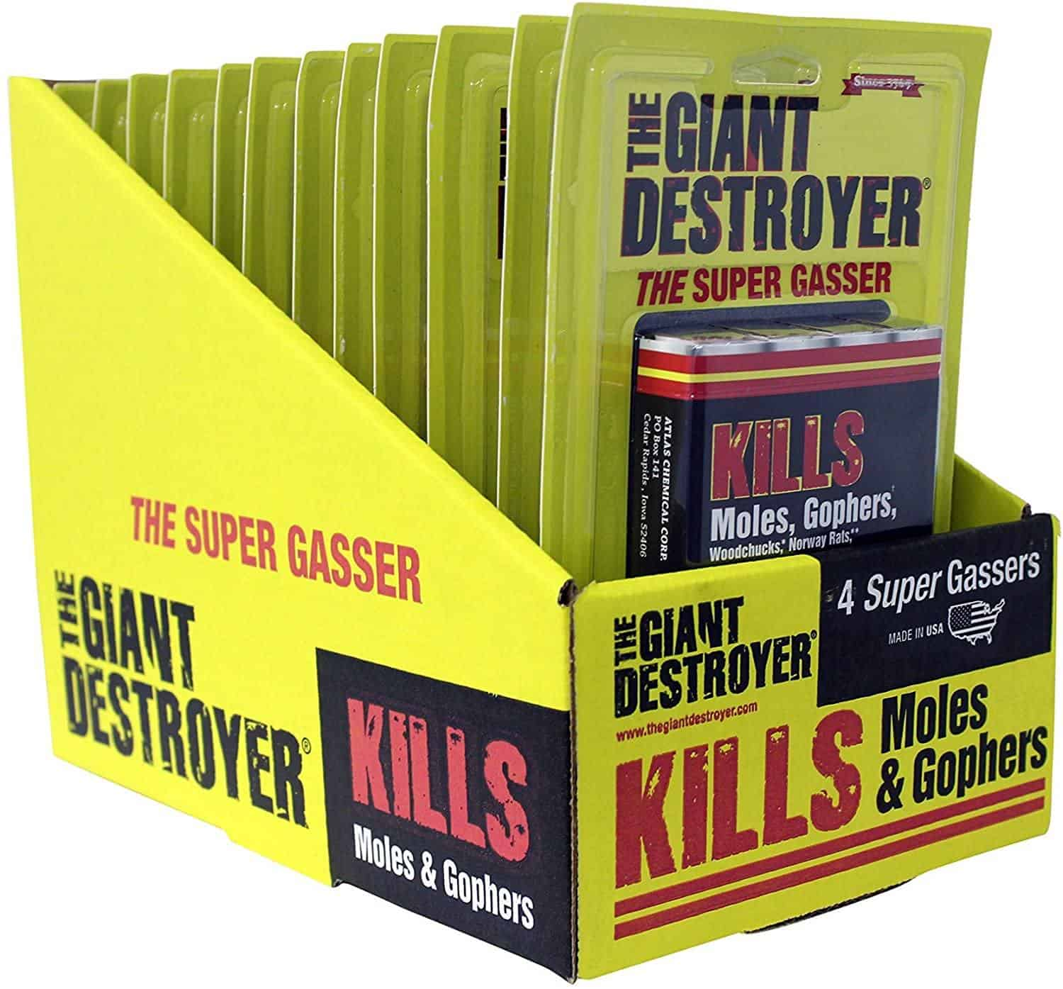 The Giant Destroyer (GAS KILLER) (12/4PK TOTAL)