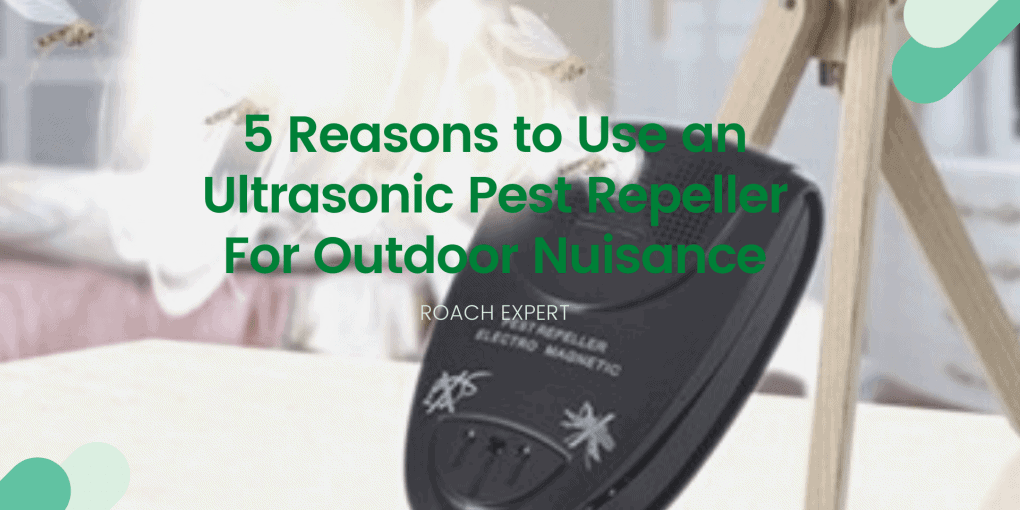 5 Reasons to Use an Ultrasonic Pest Repeller For Outdoor Nuisance