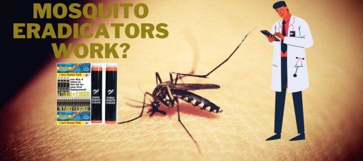 Do Spartan Mosquito Eradicators work_