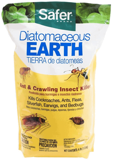 The earth-based powder roach repellent